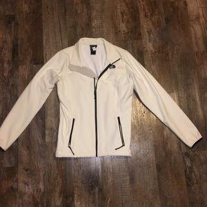 White northface coat